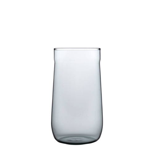 Angle Bell Highball Glasses - Smoke - Set of 2