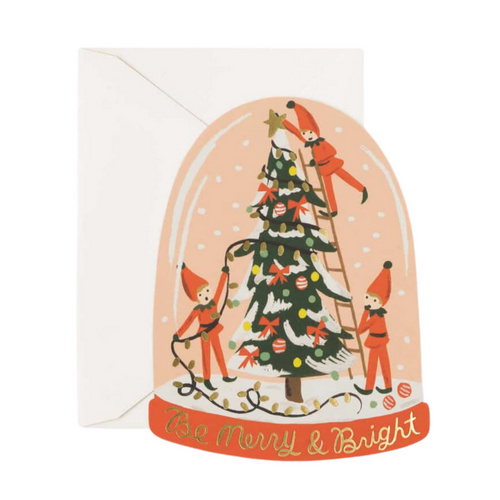 Merry Elves Die-cut Card