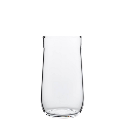 Angle Bell Highball Glasses - Clear - Set of 2