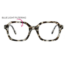 Jet Set Blue Light Glasses - Grey Tortoise