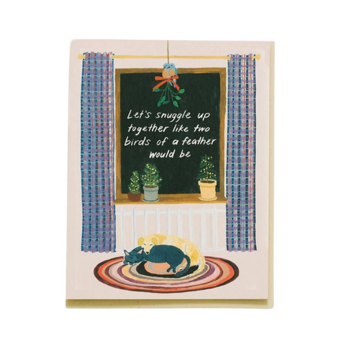 Snuggle Up Together Card