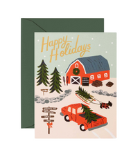 Holiday Tree Farm Card