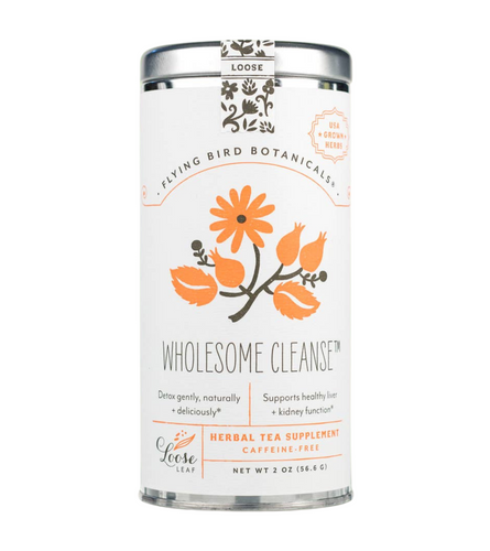 Wholesome Cleanse Loose Leaf Tea