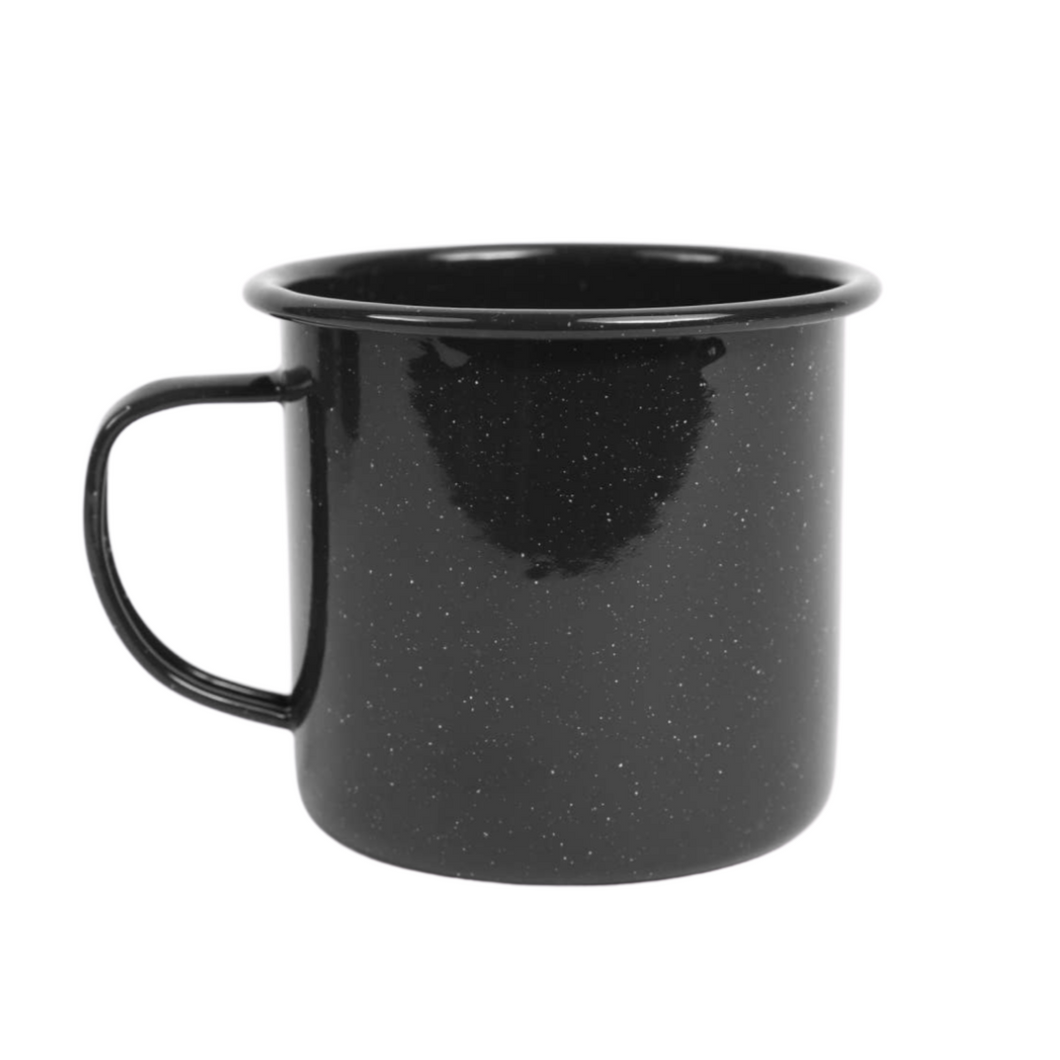 Stinson 16 oz Speckle Mug - Black