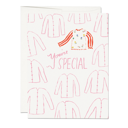 Special Sweater Card