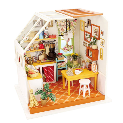DIY 3D Miniature Kit - Kitchen