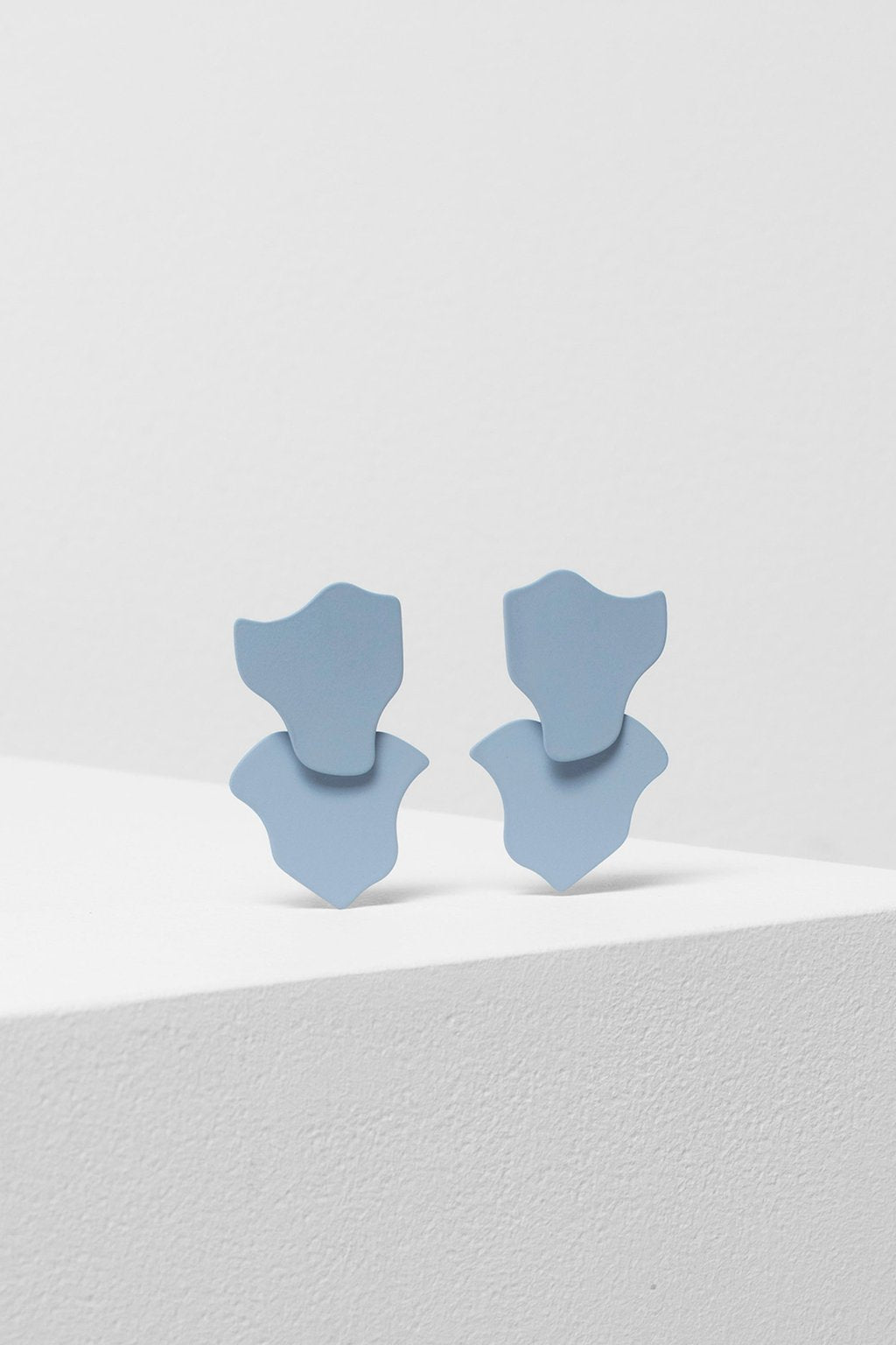 Bibi Earrings - Light Grey