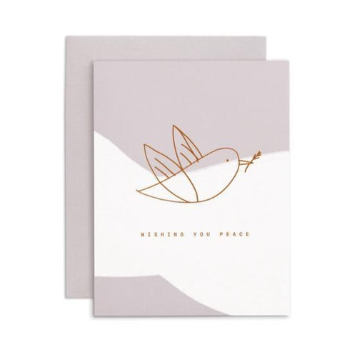White Dove Card