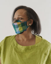 Organic Cotton Mask Set - Madras Mix