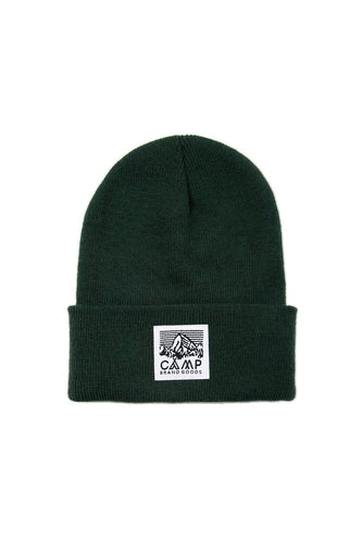 Camp Brand Goods Heritage Logo Toque - College Green