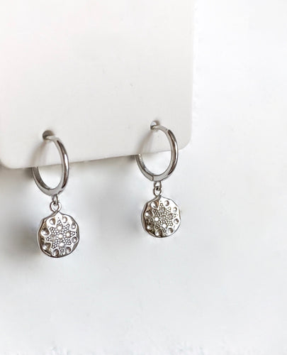Dio Earrings - Silver