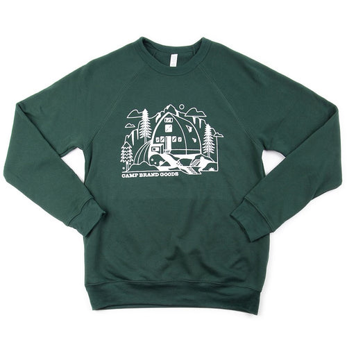 Kain Cabin Fleece Sweatshirt - Forest