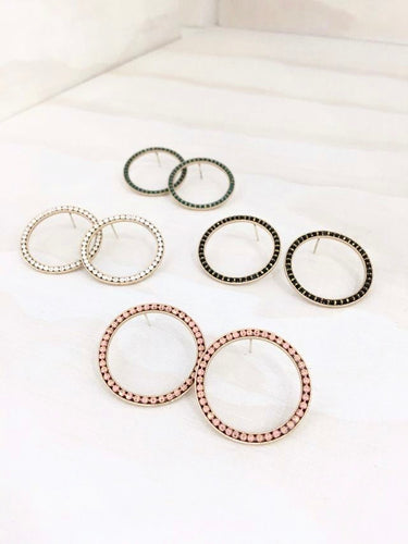 Port Hoop Earrings