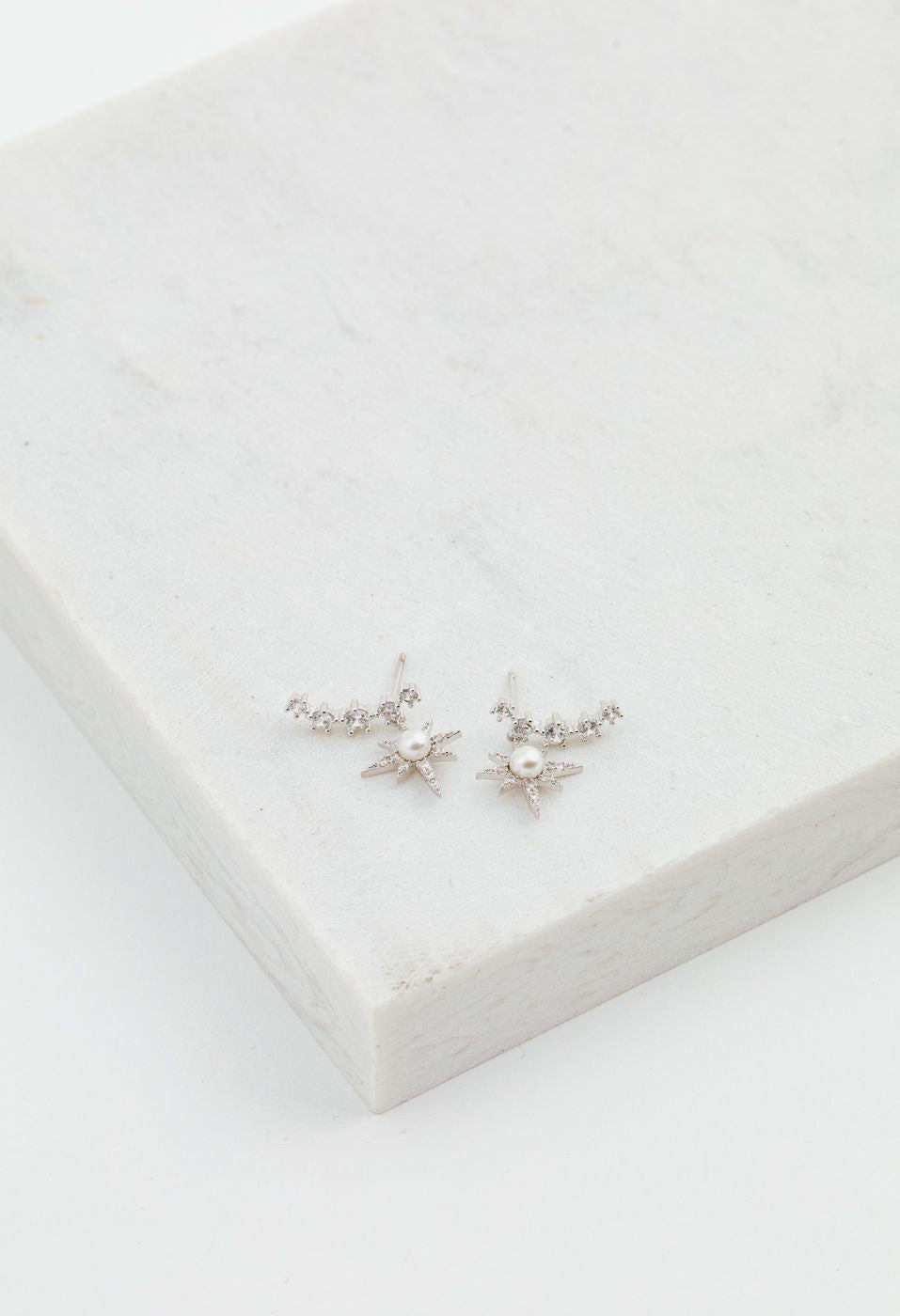 Alaia Climber Earrings - Silver