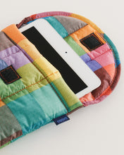 "Puffy Tablet Sleeve 8"" - Madras No. 1"