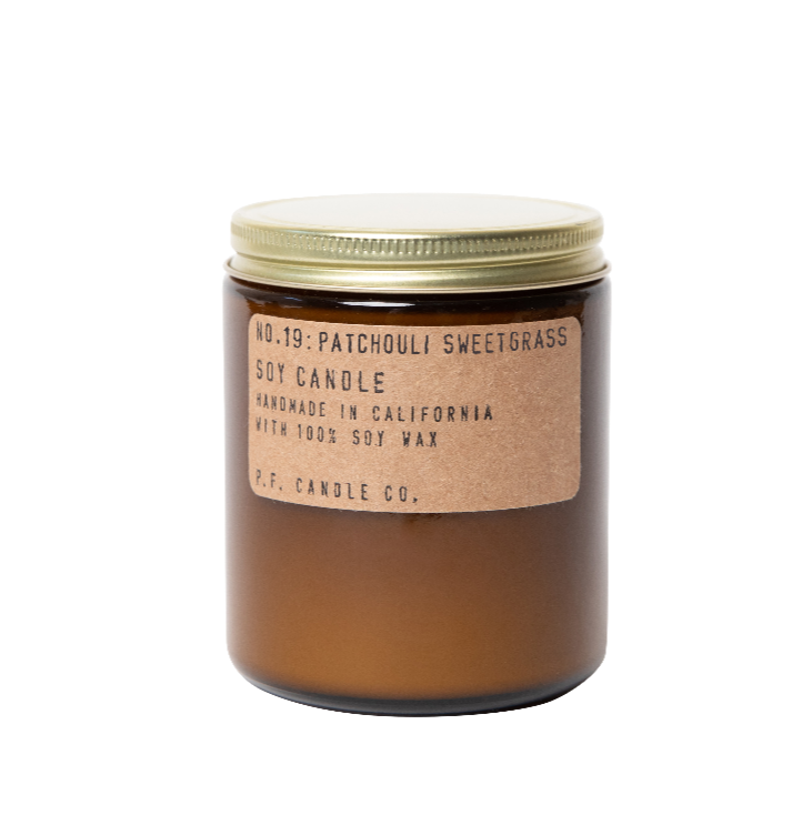 Patchouli Sweetgrass - Soy Candle