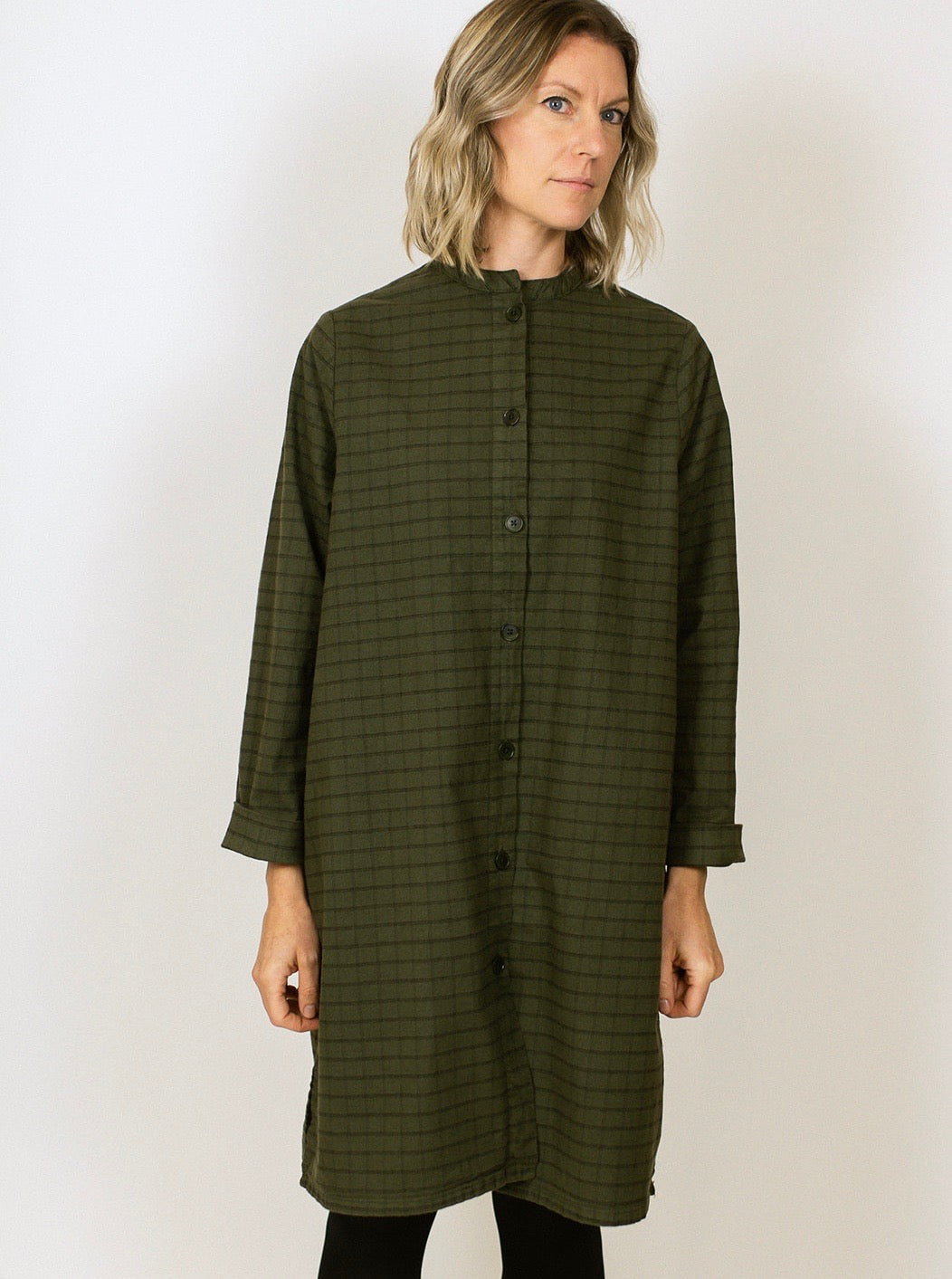 Winona Dress/Jacket - Lake Green