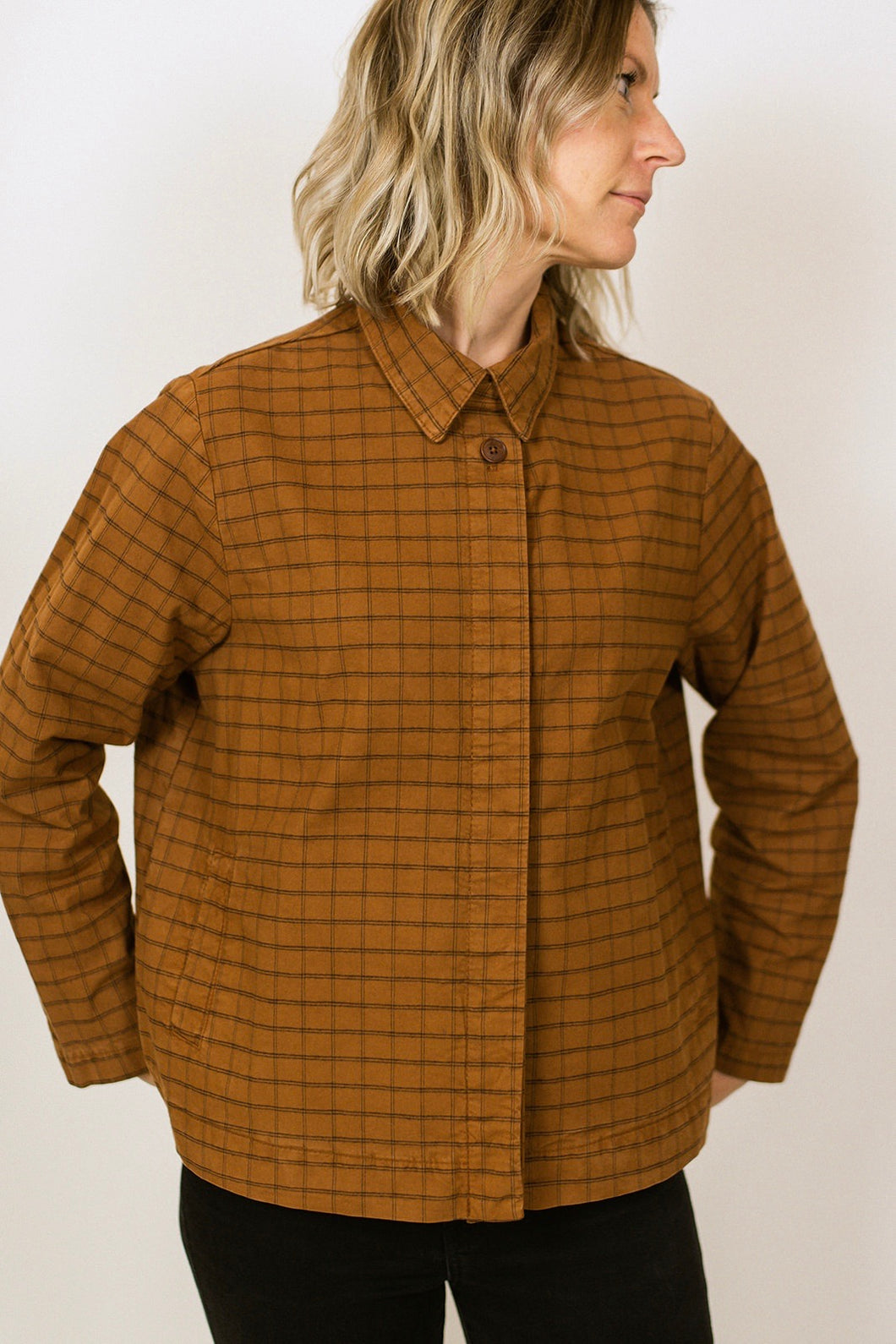 Wallis Shirt/Jacket - Caramel