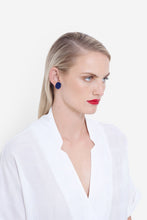 Stavik Earrings - Navy