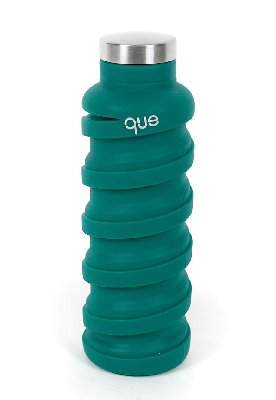 Que Collapsable Bottle - 20 oz - Forest Green