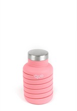 Que Collapsable Bottle - 20 oz - Coral Pink