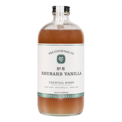 Rhubarb Vanilla Cocktail Mixer