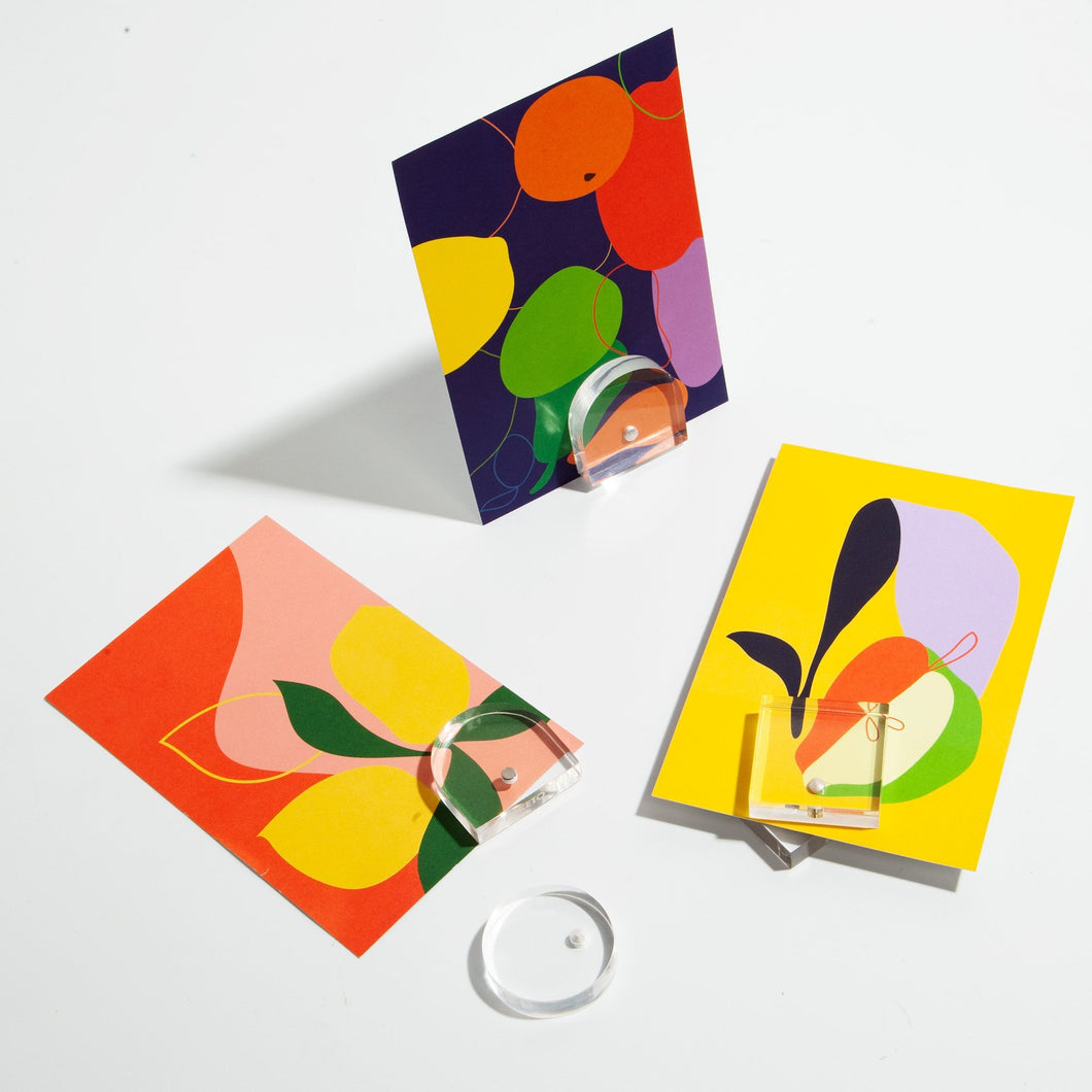 Shapes Magnet Stands Set