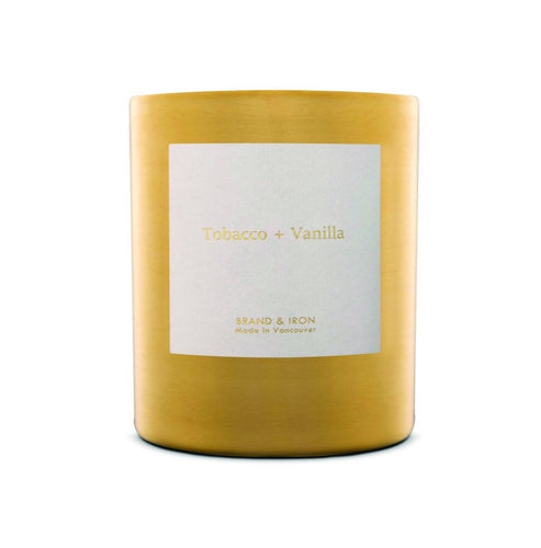 Tobacco + Vanilla - Goldie Soy Candle