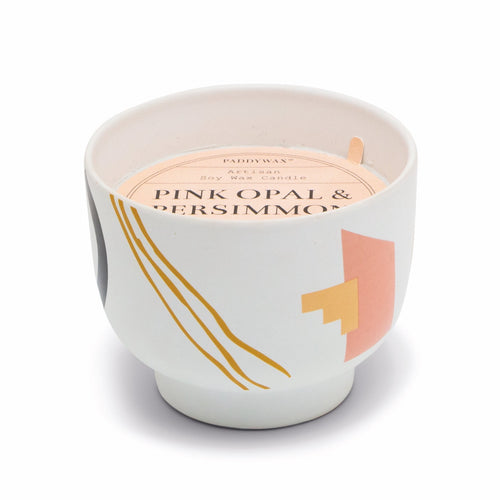 Pink Opal & Persimmon - Wabi Sabi Soy Candle