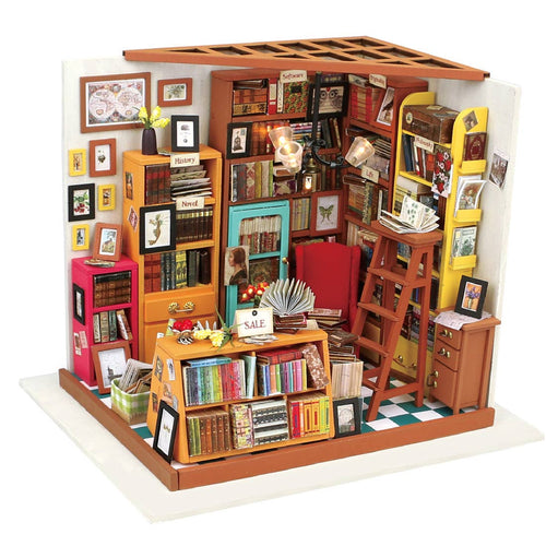 DIY 3D Miniature Kit - Bookstore