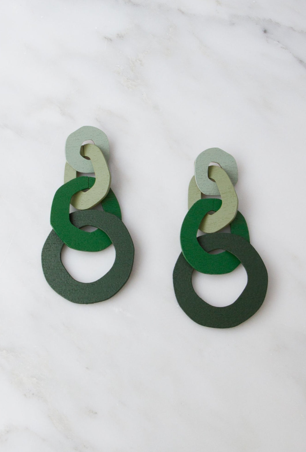 Bridgitte Earrings - Green