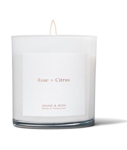 Rose + Citrus - Soy Candle