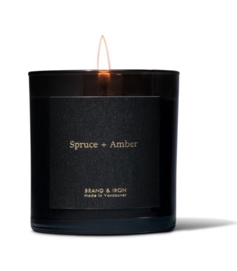 Spruce + Amber - Soy Candle