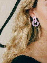 Orla I Earrings - Lilac