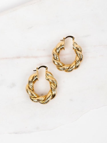 Valencia Hoop Earrings