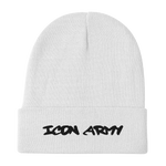Icon Army Beanie (Black or White)
