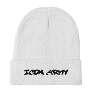 Icon Army Beanie (White)