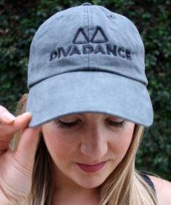DivaDance Charcoal Hat
