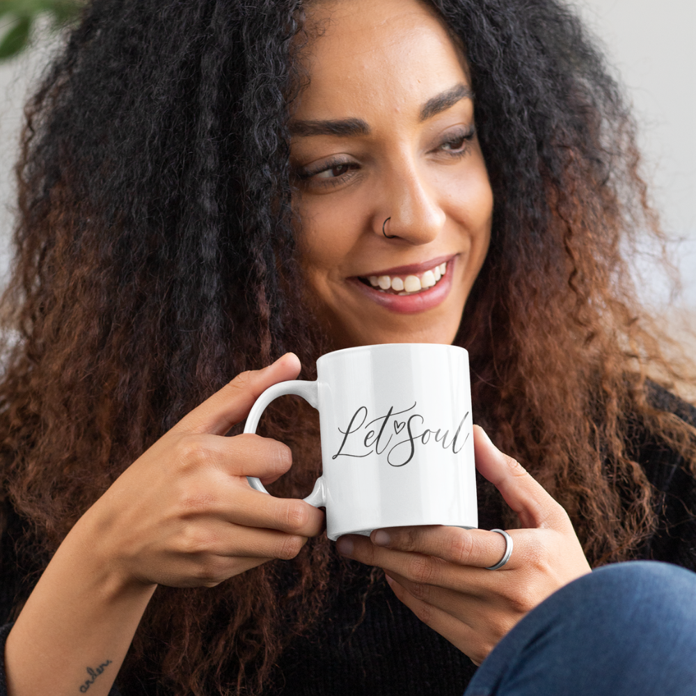 Let'Soul Heart Sign Mug
