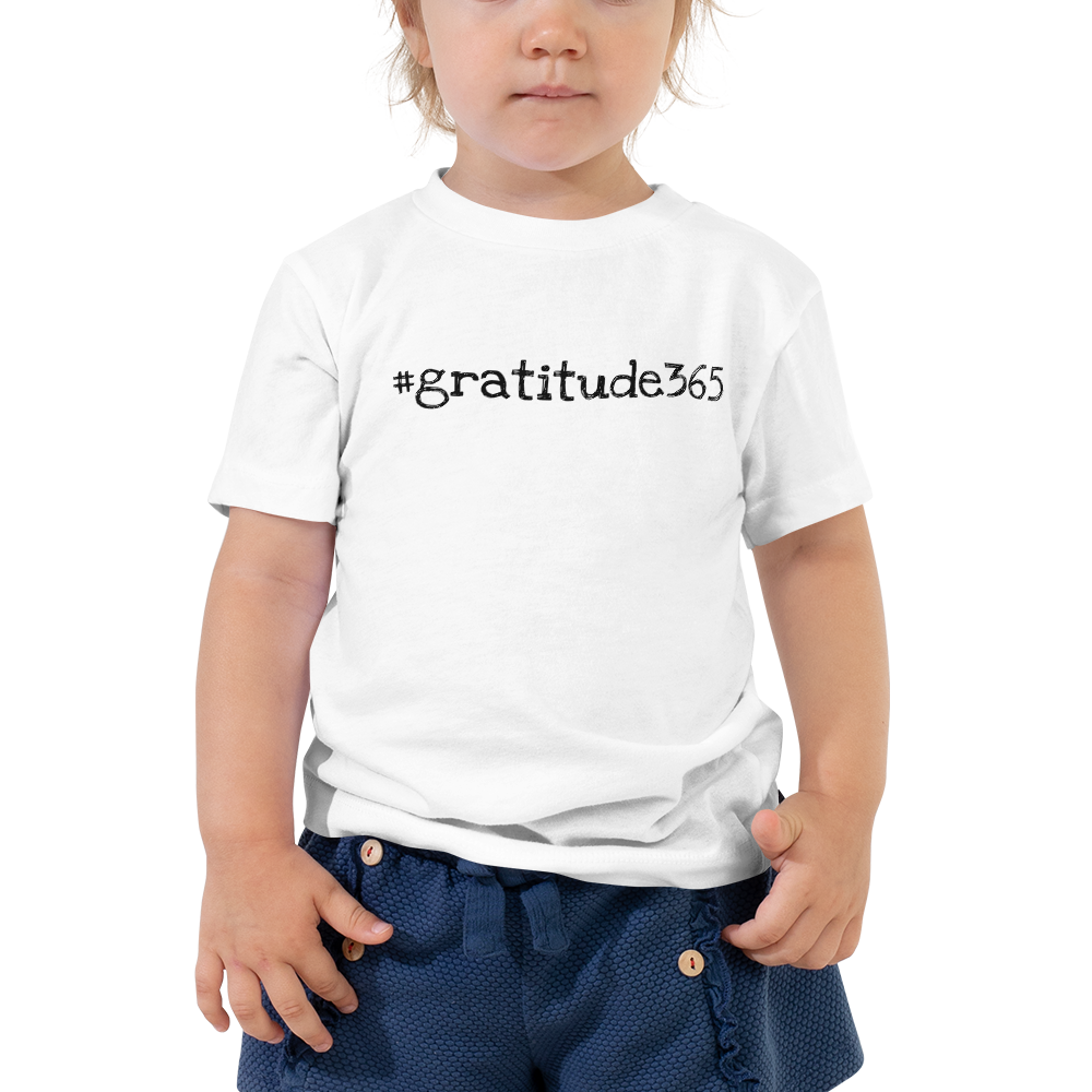 #gratitude365 Toddler Short Sleeve Tee