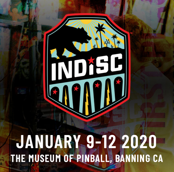 INDISC 2020 Pinball Festival Admission
