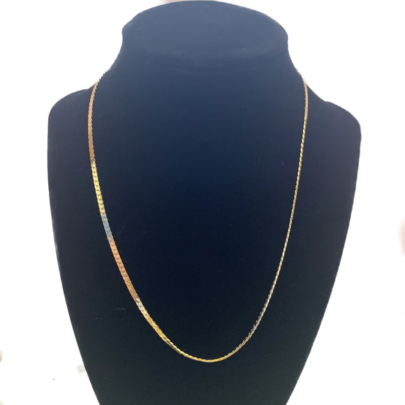 "18"" Liquid Gold Necklace"