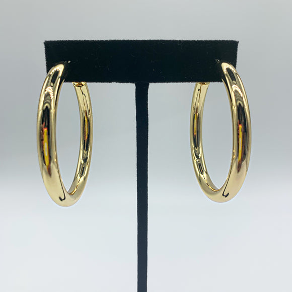 Chunky Gold Hoops