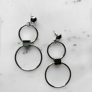 Circle Circle Earrings