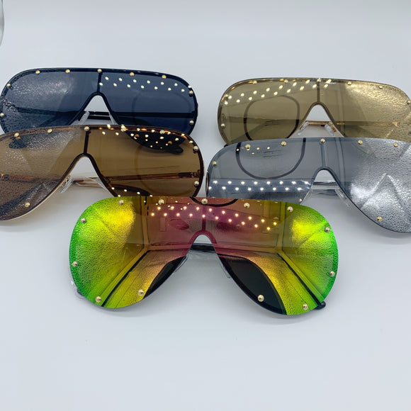 Shield Mirror Sunglasses