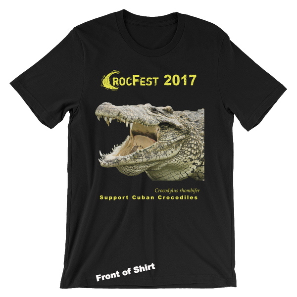 CrocFest 2017 Limited Edition Fundraiser Men's Tee