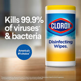 Clorox Disinfecting Wipes Value Pack, Bleach Free Cleaning Wipes (5pk, 85 ct. each)