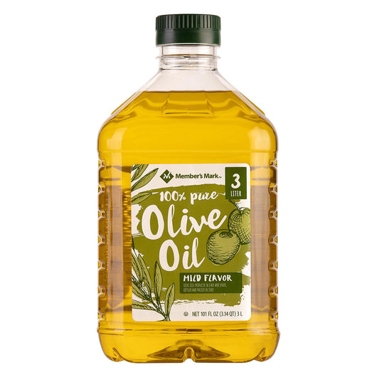 100% Pure Olive Oil (3 Liters) New Look Same Oil
