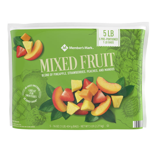 Mixed Fruit, Frozen (16 oz. bags, 5 ct.)