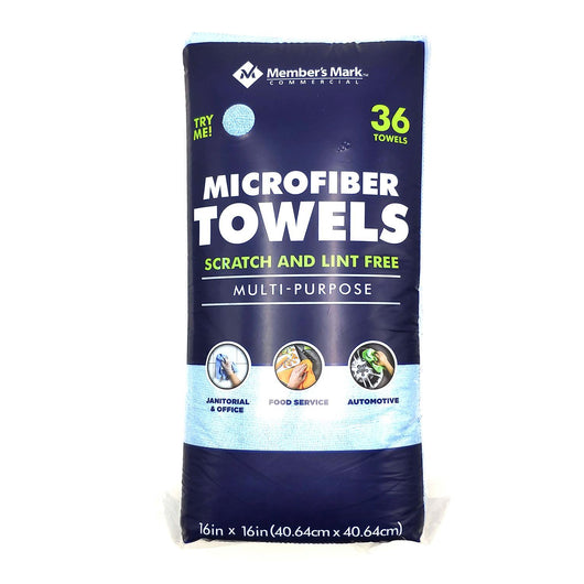 Microfiber Towels,  (36 ct.)